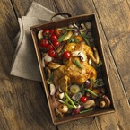 Summery roast chicken recipe